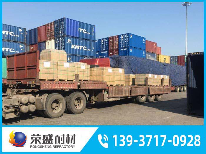 荣盛耐材产品顺利发往越南