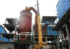 广西沸腾炉保温层施工维修项目案例