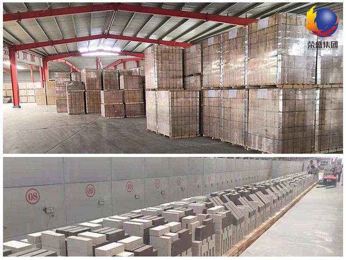 郑州荣盛耐材砖料生产车间