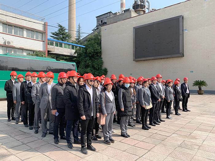 荣盛员工参加东风电厂参观学习