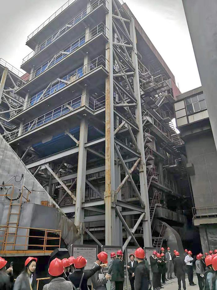 东风电厂循环流化床锅炉