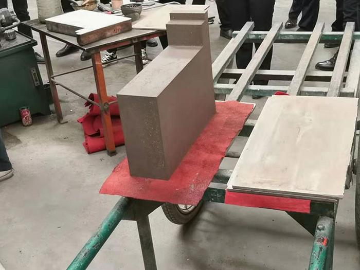 异形砖砖坯