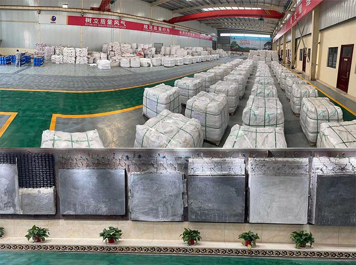 荣盛集团不定形耐火材料原料及生产